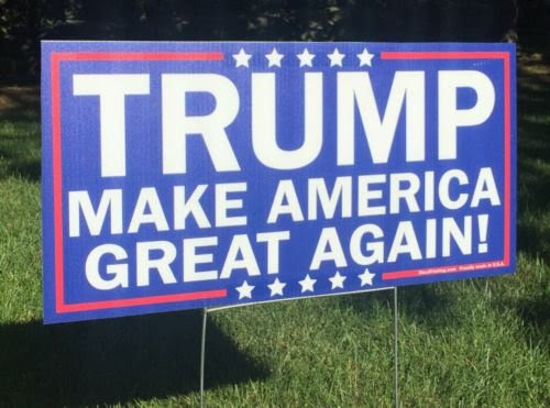 trumpyardsign